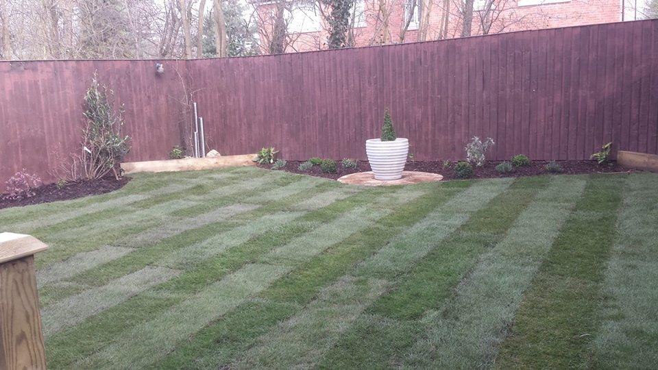 Garden Maintenance Example - After
