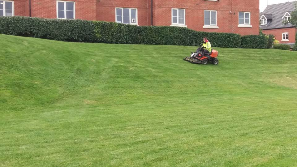Grounds Maintenance - Grass Cutting Large Municiple Areas