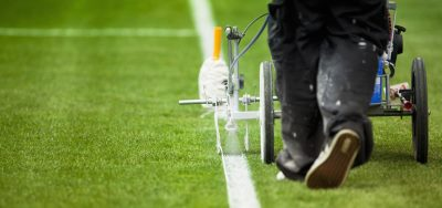 menu Pitch marking in Burton on Trent Line marking school football fields